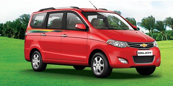 Chevrolet Enjoy Petrol Lt 8 Seater Model Feature Specification Diesel