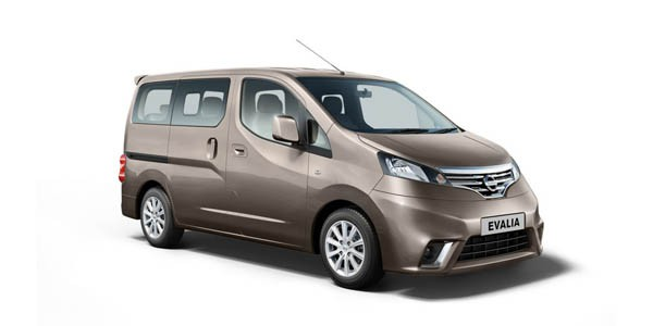 nissan evalia xl option specifications and features. Black Bedroom Furniture Sets. Home Design Ideas